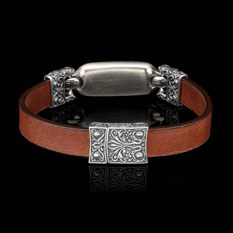 Men's Florence Mammoth Bracelet - LC193 TMT BRN-William Henry-Renee Taylor Gallery