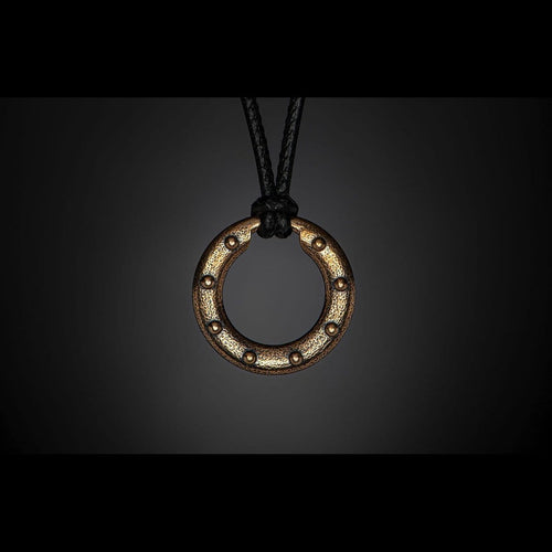 Bronze Orbit Necklace - P50 BZ-William Henry-Renee Taylor Gallery