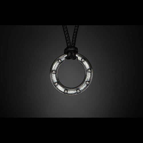 Silver Orbit Necklace - P50 S-William Henry-Renee Taylor Gallery