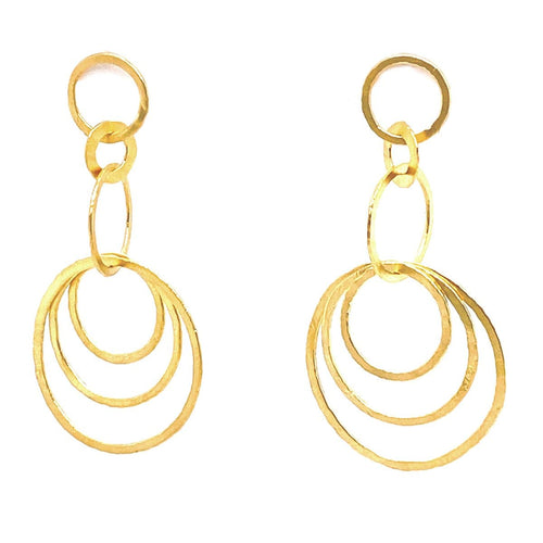 Marika 14k Gold Earrings - MA7774-Marika-Renee Taylor Gallery