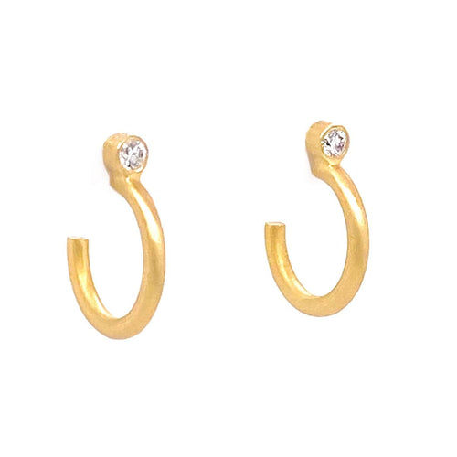 Marika Diamond & 14k Gold Earrings - MA7781-Marika-Renee Taylor Gallery