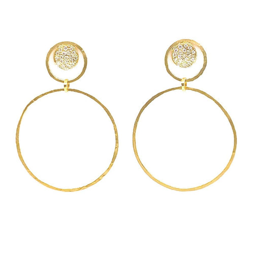 Marika Diamond & 14k Gold Earrings - MA7762-Marika-Renee Taylor Gallery
