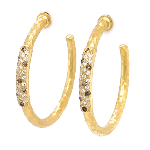 Marika Diamond & 14k Gold Earrings - MA7724-Marika-Renee Taylor Gallery