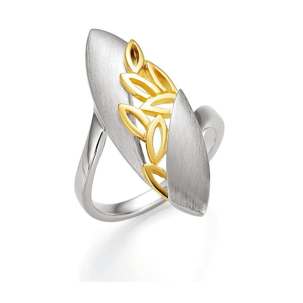 Yellow Gold Plated Sterling Silver Ring - 44/01399 - Breuning