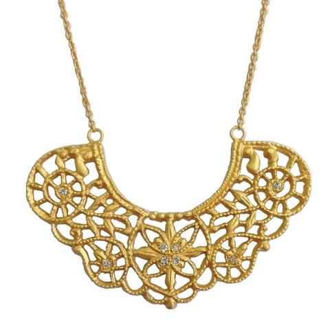 Marika Diamond & 14k Gold Necklace - M4579-Marika-Renee Taylor Gallery