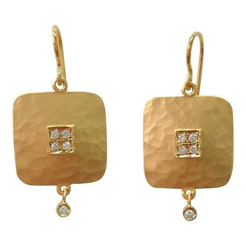 Marika Diamond & 14k Gold Earrings - MA4739-Marika-Renee Taylor Gallery