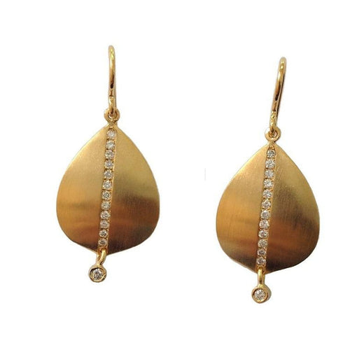 Marika Diamond & 14k Gold Earrings - MA4858-Marika-Renee Taylor Gallery