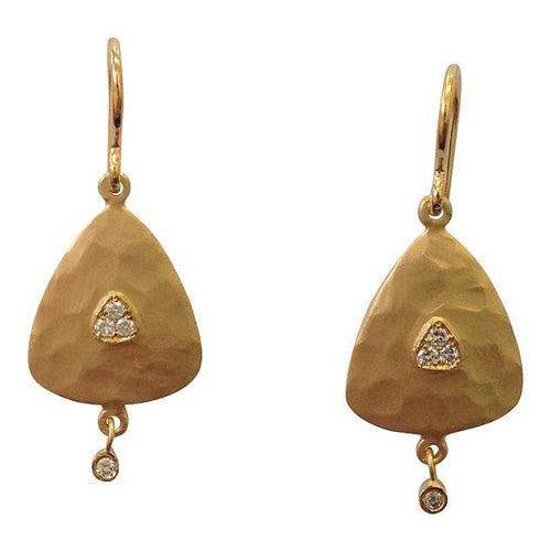 Marika Diamond & 14k Gold Earrings - MA4872-Marika-Renee Taylor Gallery