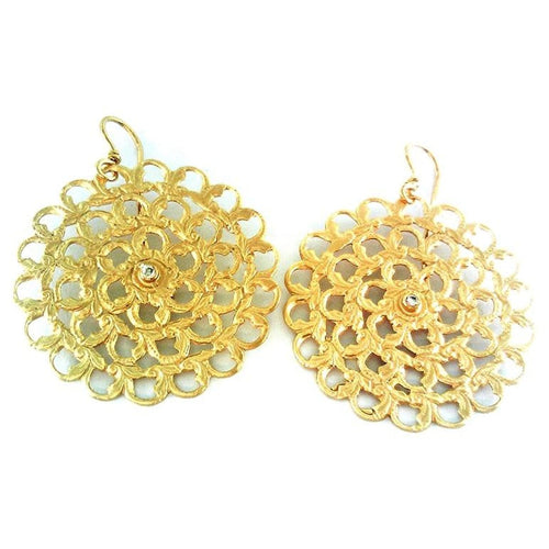 Marika Diamond & 14k Gold Earrings - MA565-Marika-Renee Taylor Gallery
