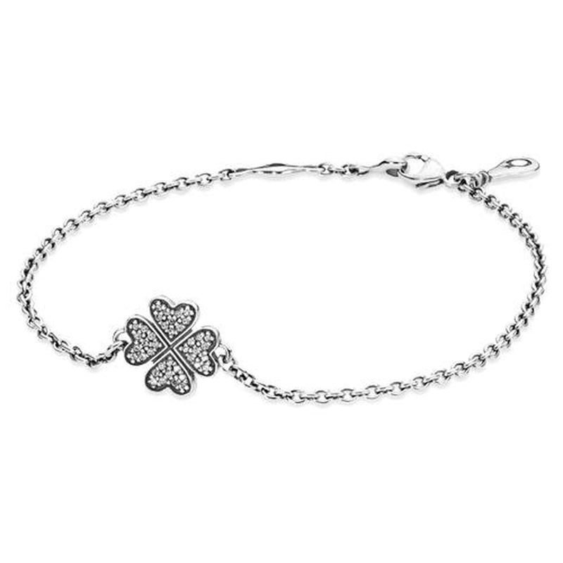 Symbol of Lucky in Love Clear Cubic Zirconia Bracelet - 590506CZ-16-Pandora-Renee Taylor Gallery