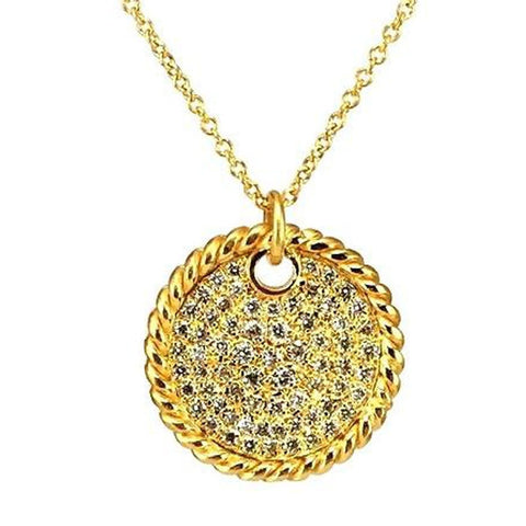 Marika Diamond & 14k Gold Necklace - M6102-Marika-Renee Taylor Gallery
