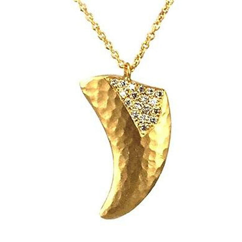 Marika Diamond & 14k Gold Necklace - M6177-Marika-Renee Taylor Gallery