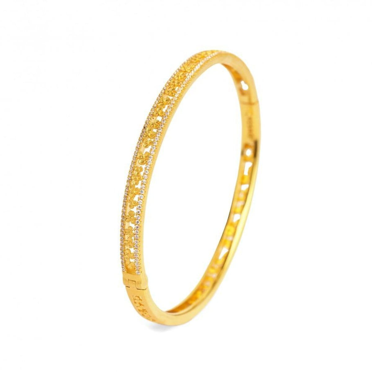 Leilini Zirconia Bangle - 63110156-Bernd Wolf-Renee Taylor Gallery