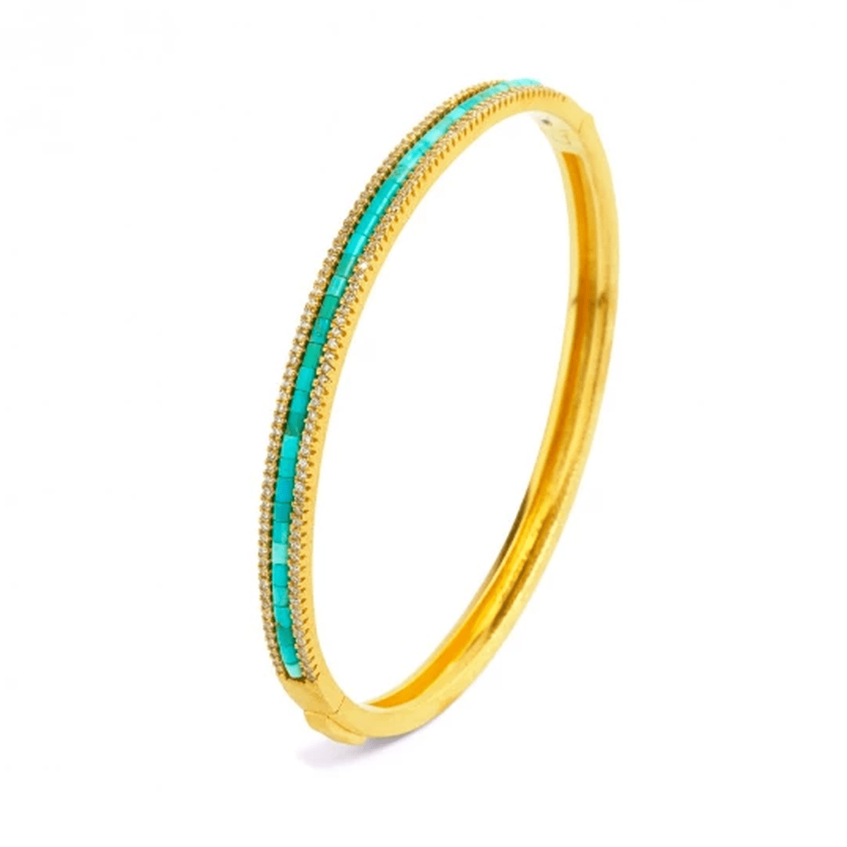 Alana Turquoise Bracelet - 63112256-Bernd Wolf-Renee Taylor Gallery