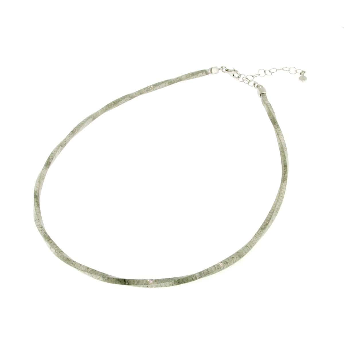 Sterling Silver Necklace - 64/83610-2-Breuning-Renee Taylor Gallery