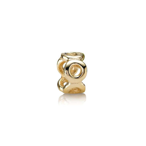 Spacer 14K Gold Charm - 750222-Pandora-Renee Taylor Gallery