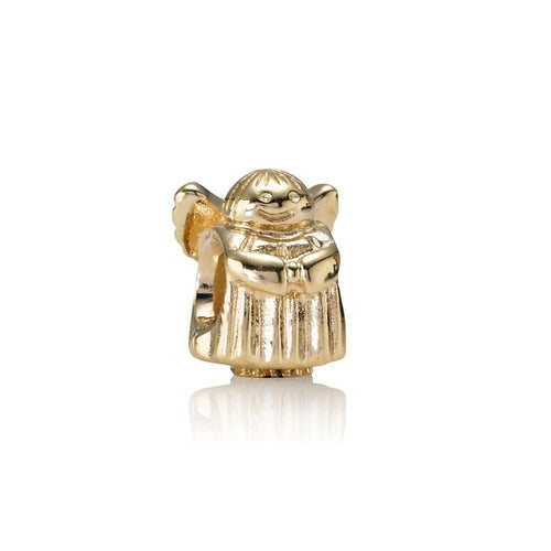 Angel of Hope 14K Gold Charm - 750419-Pandora-Renee Taylor Gallery