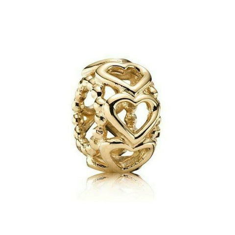 Lucky in Love 14K Gold Charm - 750813-Pandora-Renee Taylor Gallery