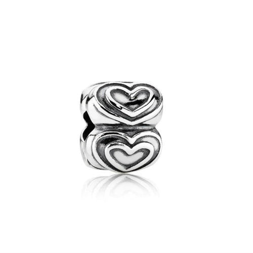 You're In My Heart Clip Charm - 790959-Pandora-Renee Taylor Gallery