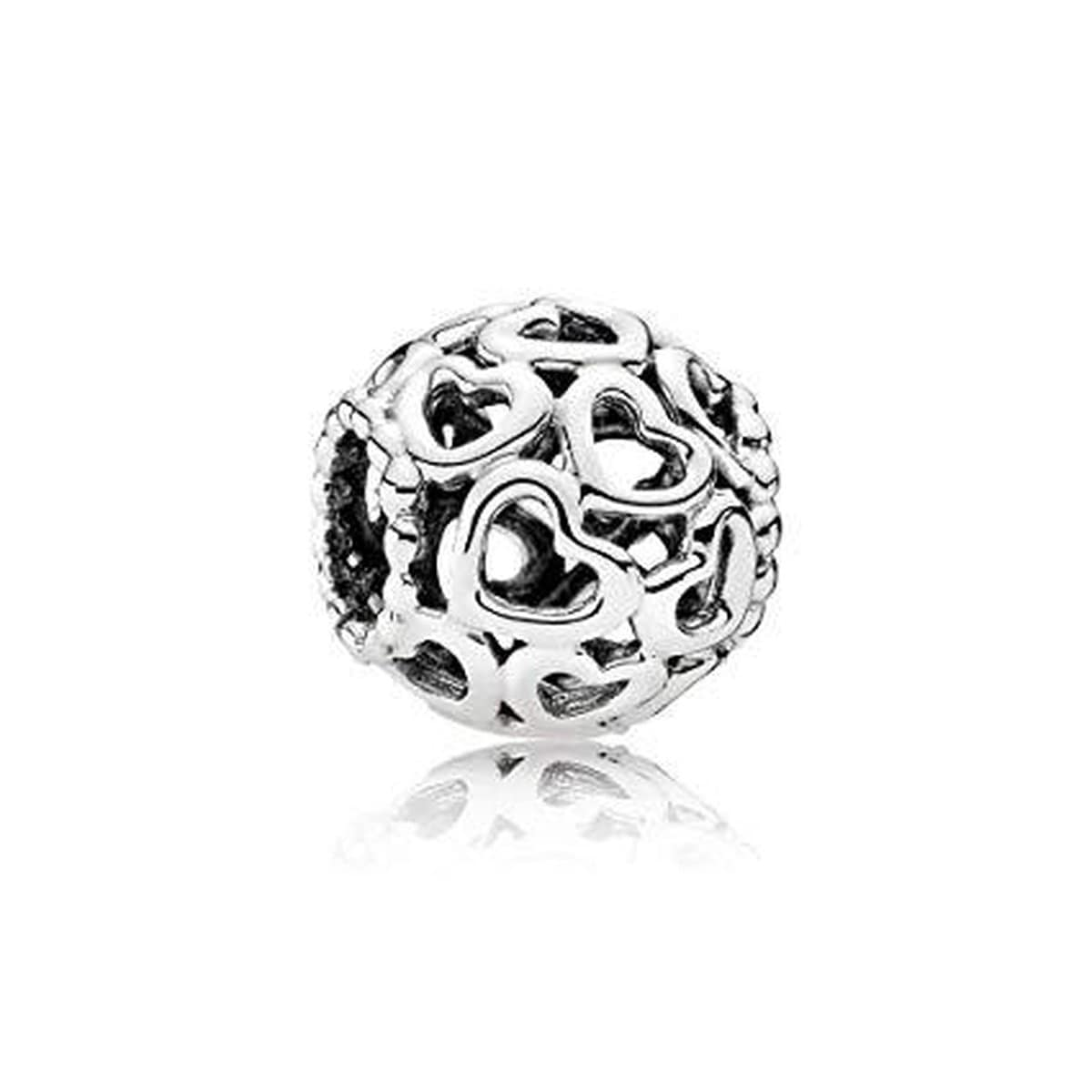 Open Your Heart Sterling Silver Charm - 790964-Pandora-Renee Taylor Gallery