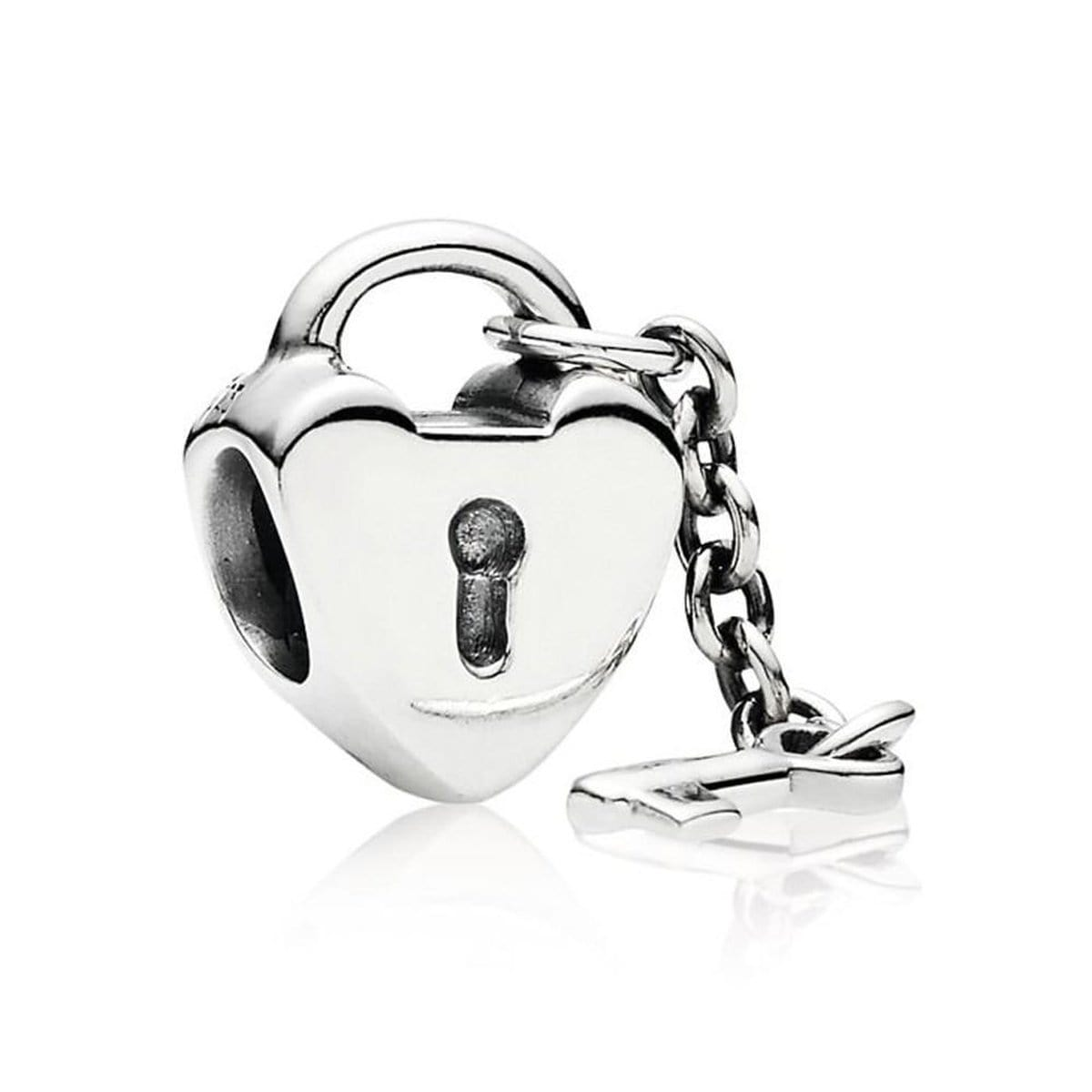 Key To My Heart Sterling Silver Charm - 790971-Pandora-Renee Taylor Gallery