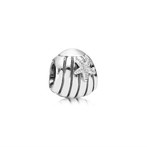 Sea Shell Sterling Silver Charm - 790972-Pandora-Renee Taylor Gallery