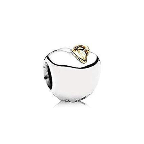 Apple Of My Eye 14K Gold & Silver Charm - 791026-Pandora-Renee Taylor Gallery
