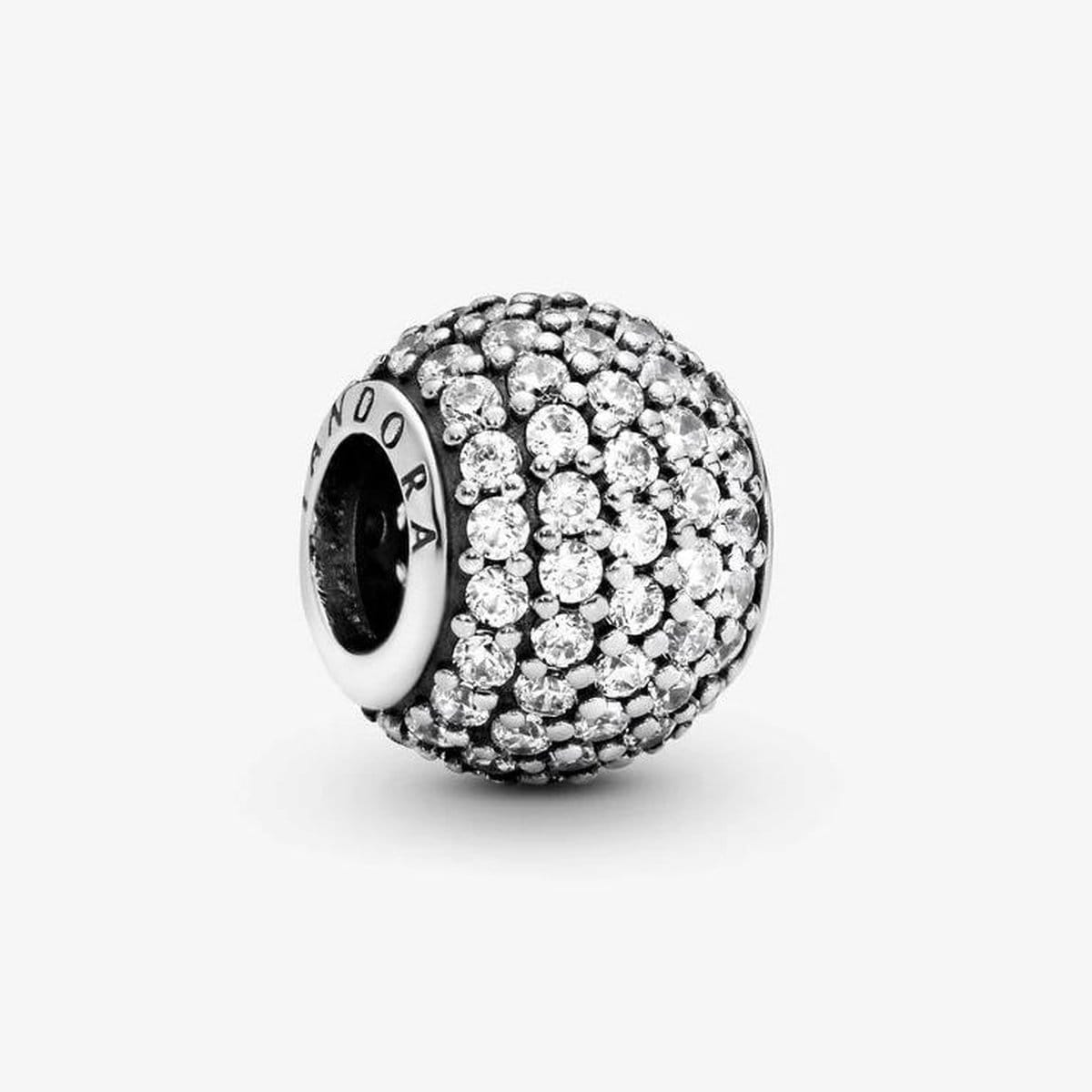 Clear Pave Lights Clear Cubic Zirconia Charm - 791051CZ-Pandora-Renee Taylor Gallery