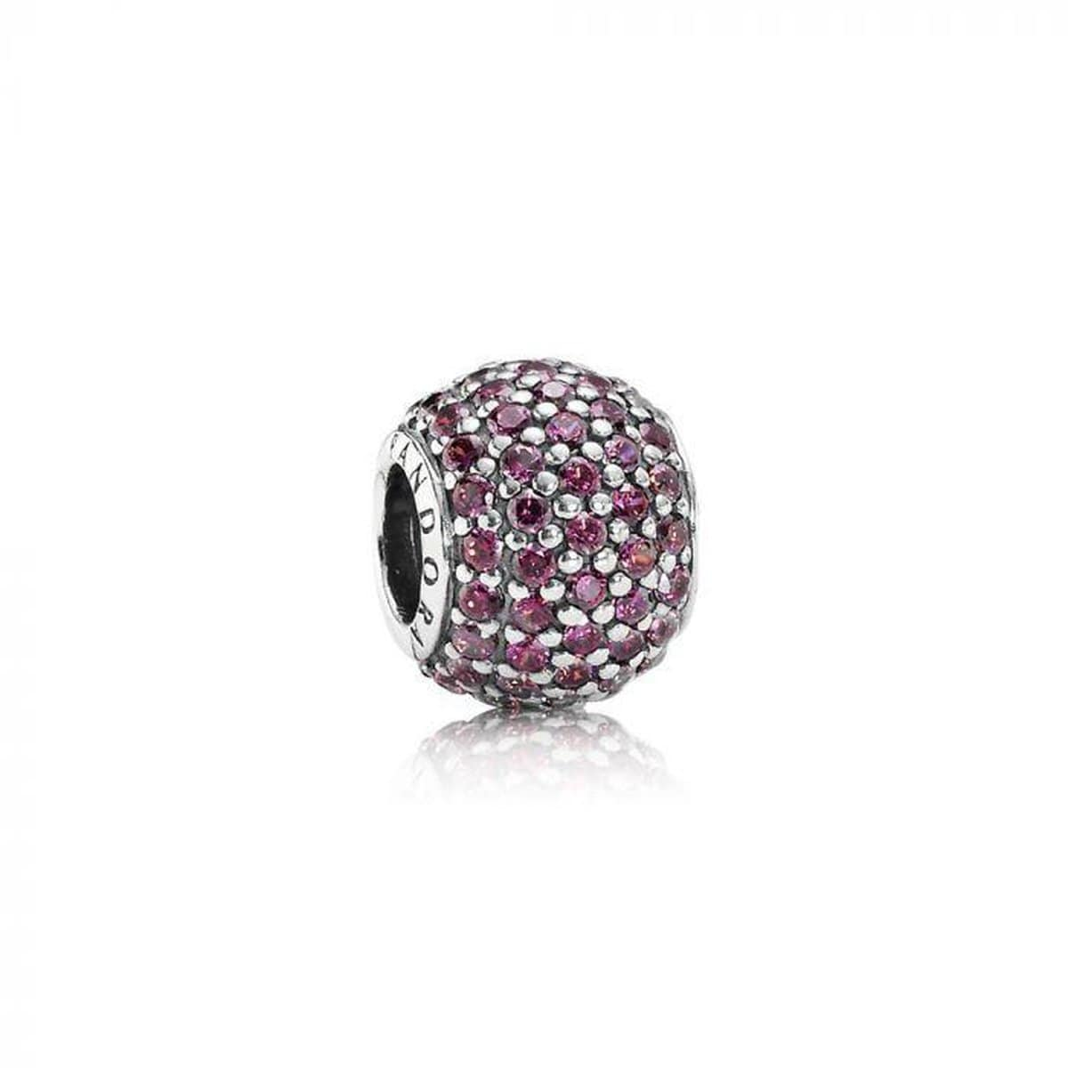 Red Pave Lights Red Cubic Zirconia Charm - 791051CZR-Pandora-Renee Taylor Gallery