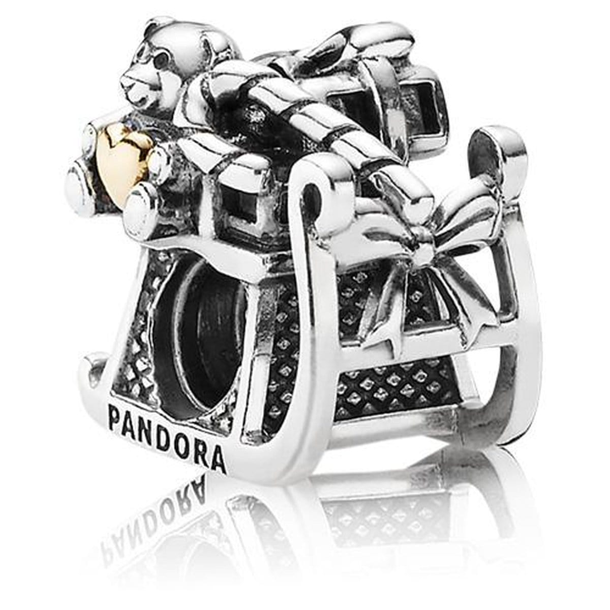 Dashing Through the Snow 14K Gold Charm - 791207