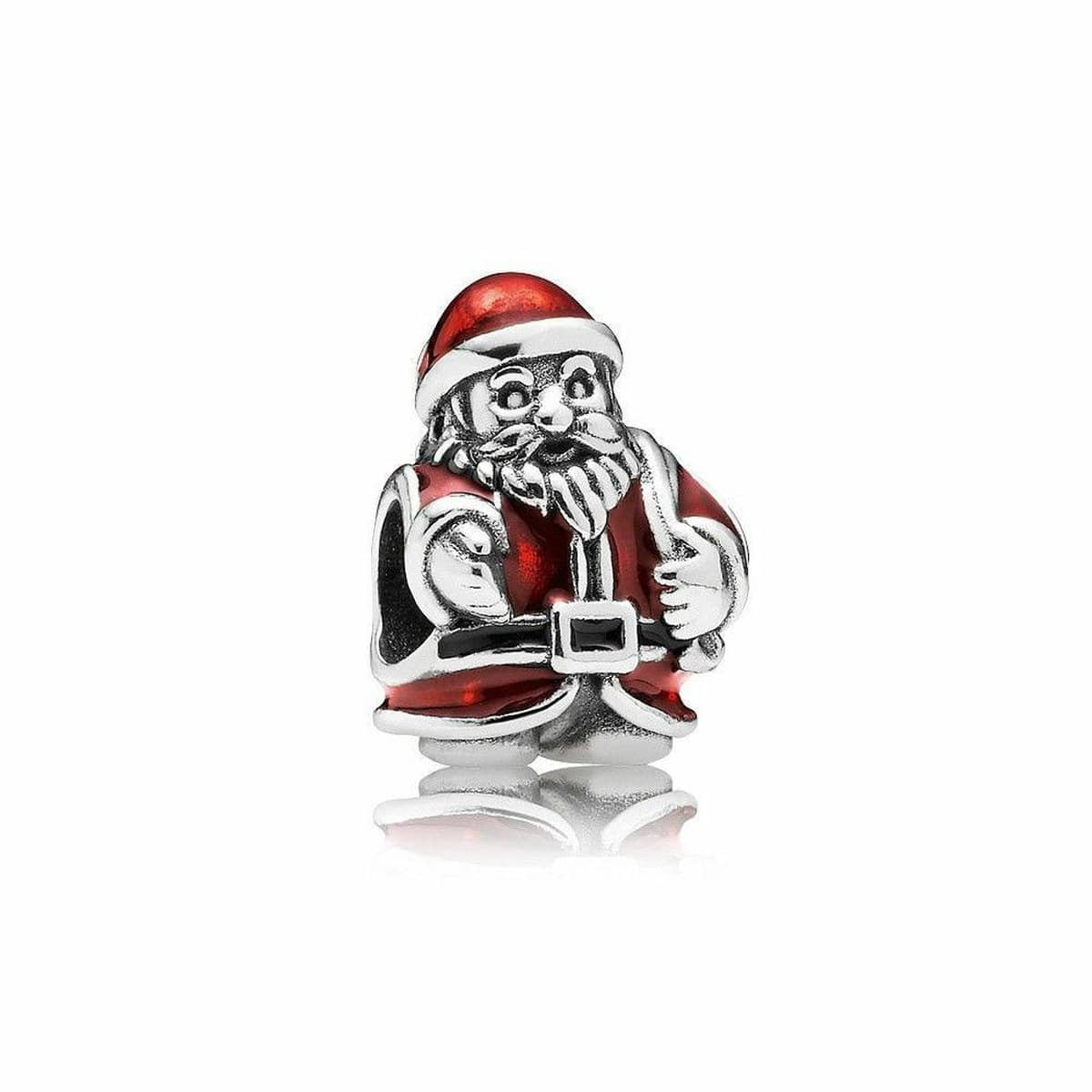 St. Nick Red Enamel Charm - 791231ENMX