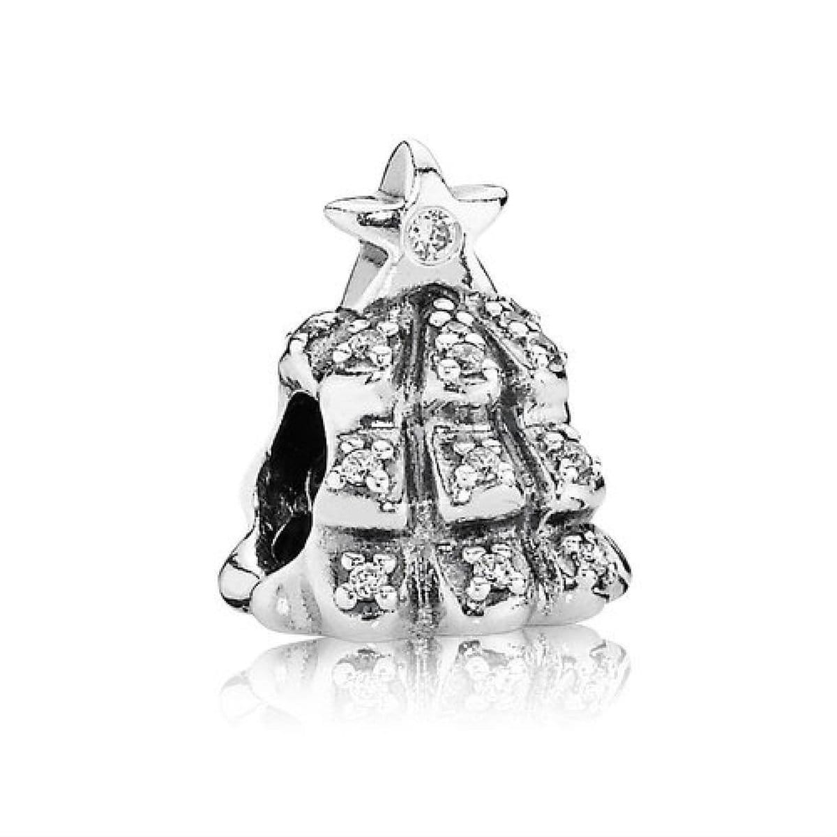 Tree of Lights Clear Cubic Zirconia Charm - 791239CZ-Pandora-Renee Taylor Gallery