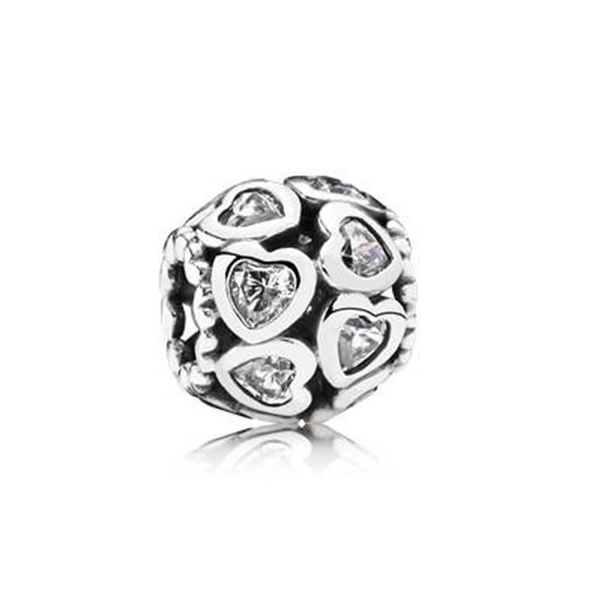 Love All Around Clear Cubic Zirconia Charm - 791250CZ-Pandora-Renee Taylor Gallery
