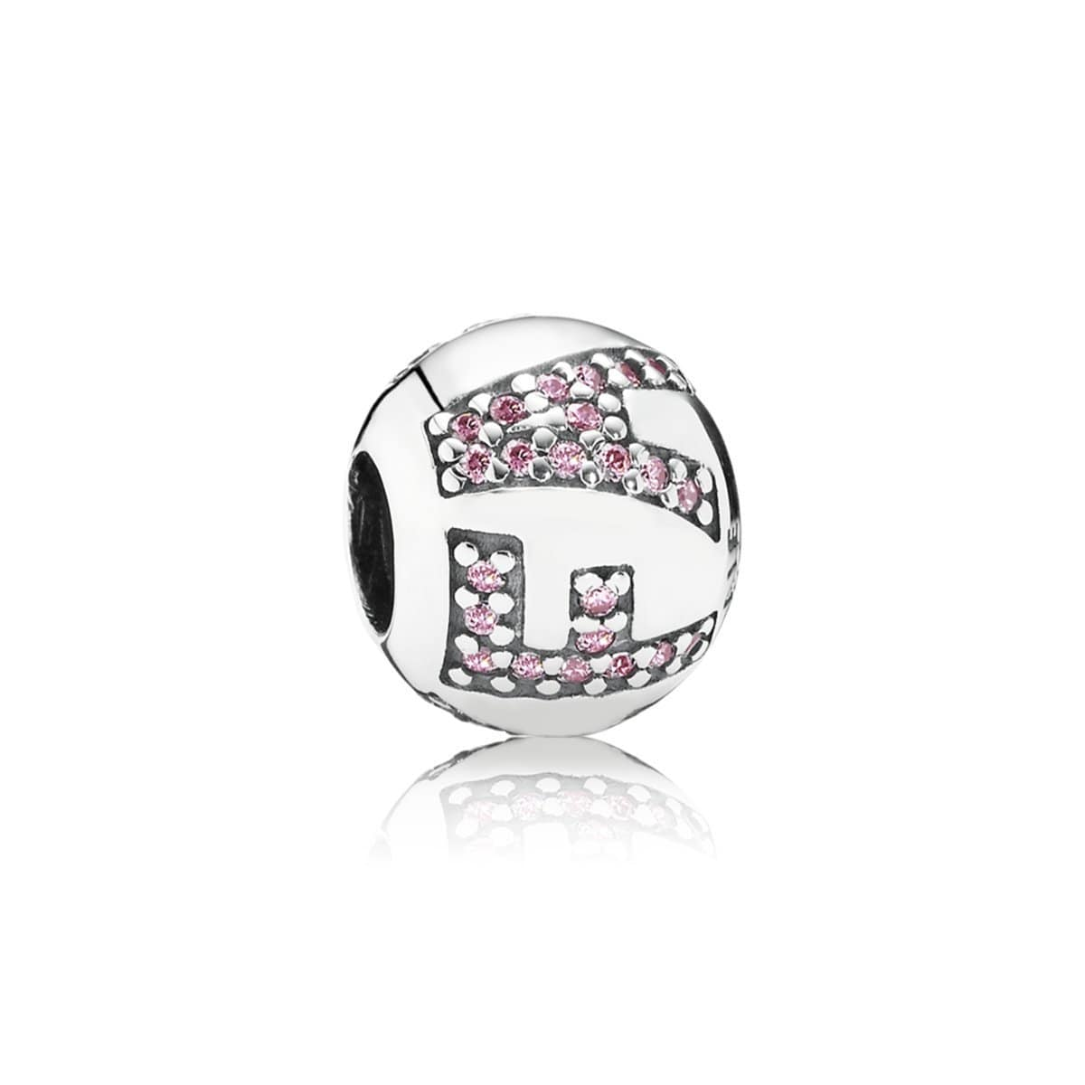 Surrounded by Faith, Pink Cubic Zirconia Charm - 791417PCZ-Pandora-Renee Taylor Gallery