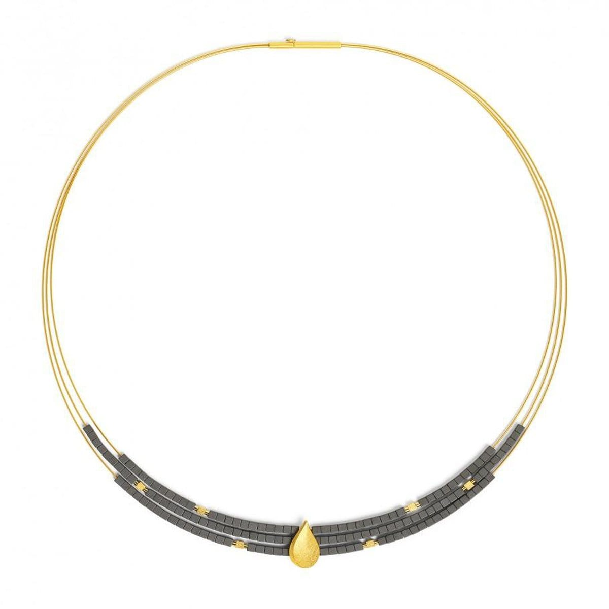 Aquinsa Hematine Necklace - 84122276