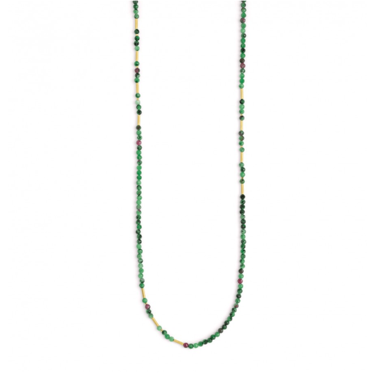 Landelon Ruby Zoisite Necklace - 84405086-Bernd Wolf-Renee Taylor Gallery
