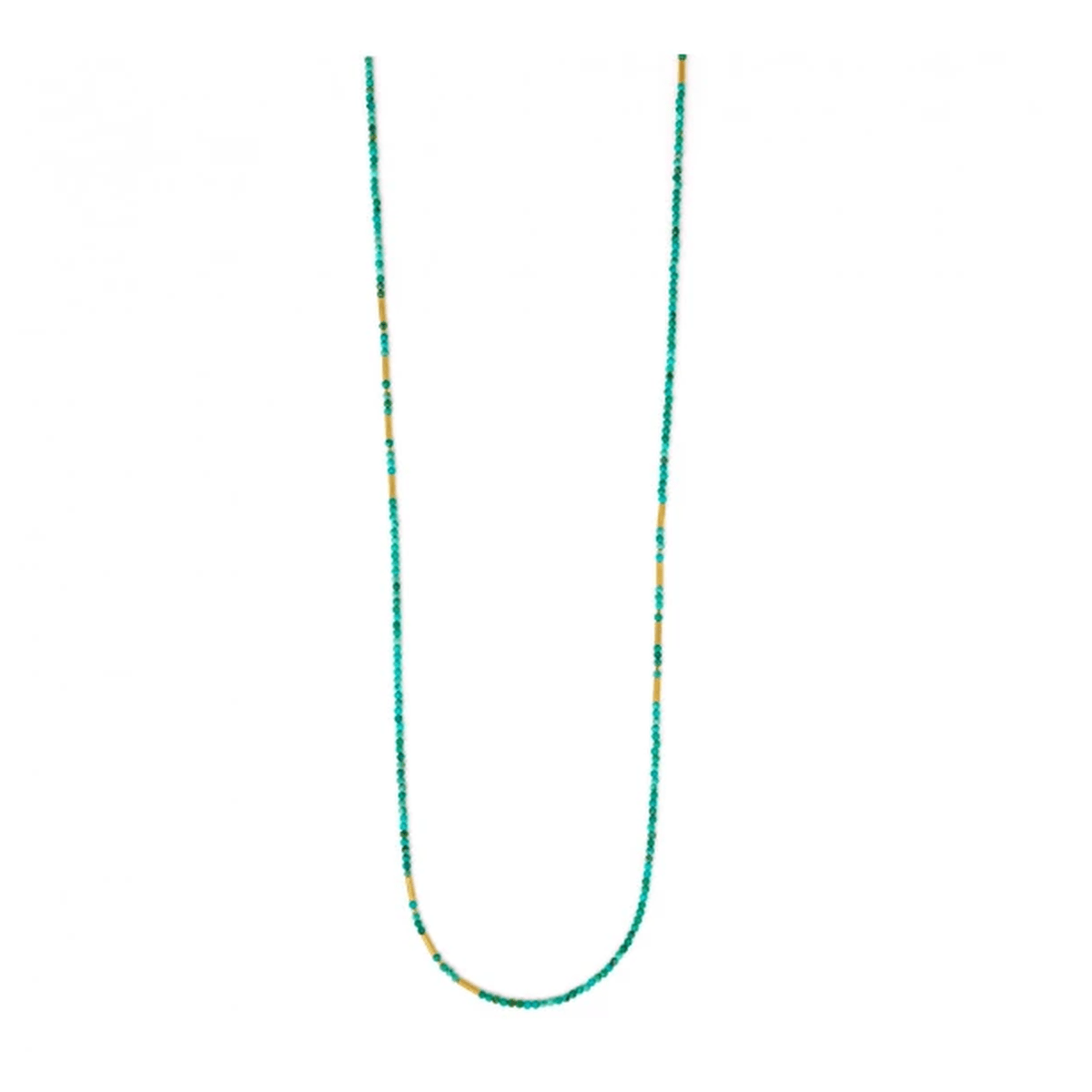 Landelon Blue Turquoise Necklace - 84407256-Bernd Wolf-Renee Taylor Gallery