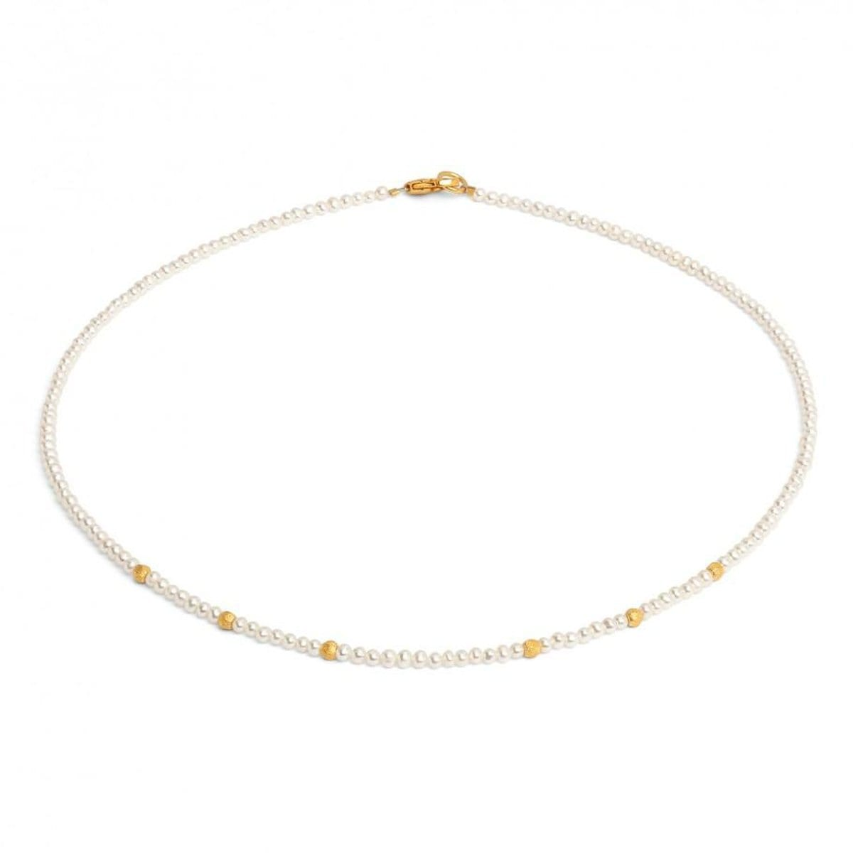 Latini Freshwater Pearl Necklace - 84466656-Bernd Wolf-Renee Taylor Gallery