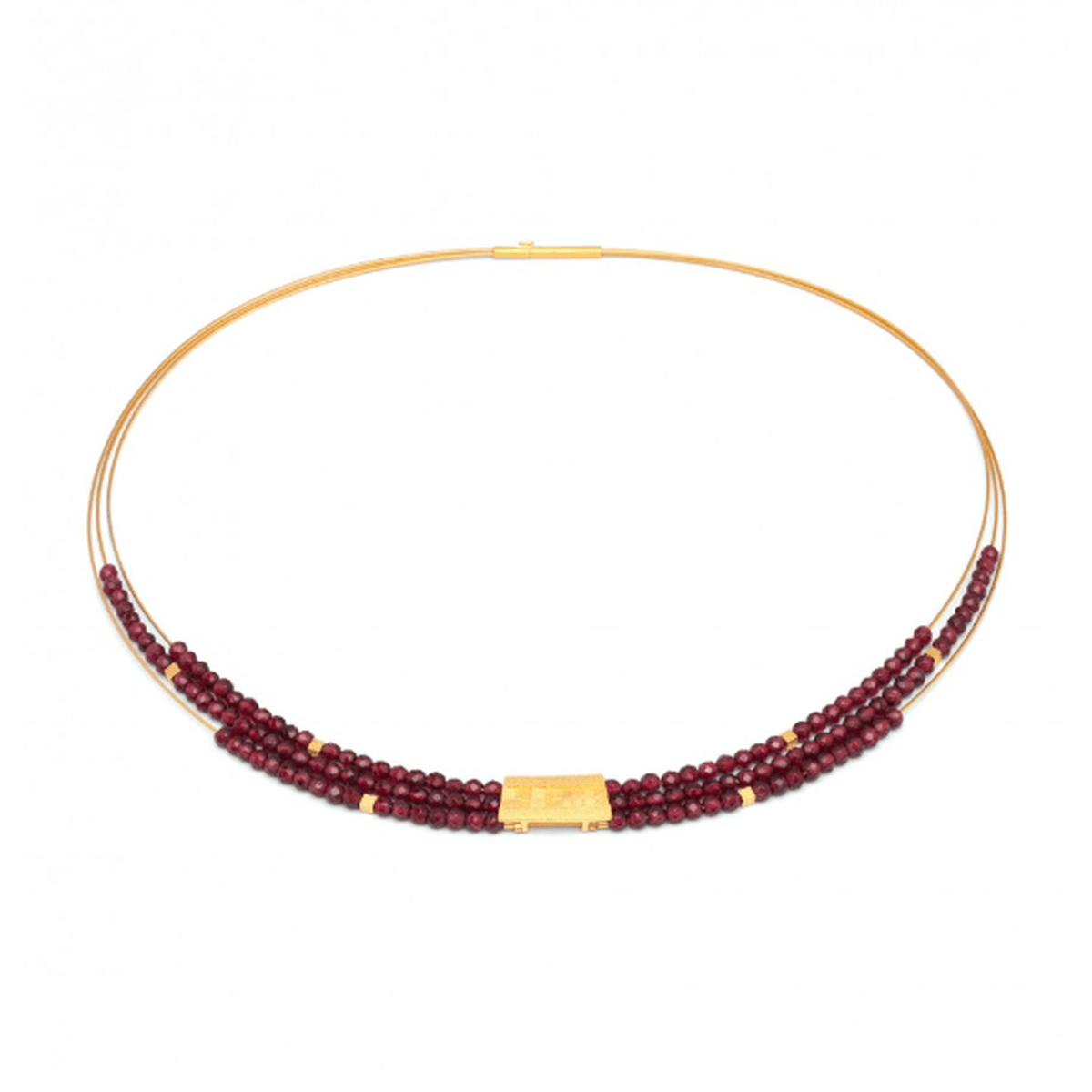 Orfini Garnet Necklace - 85089776