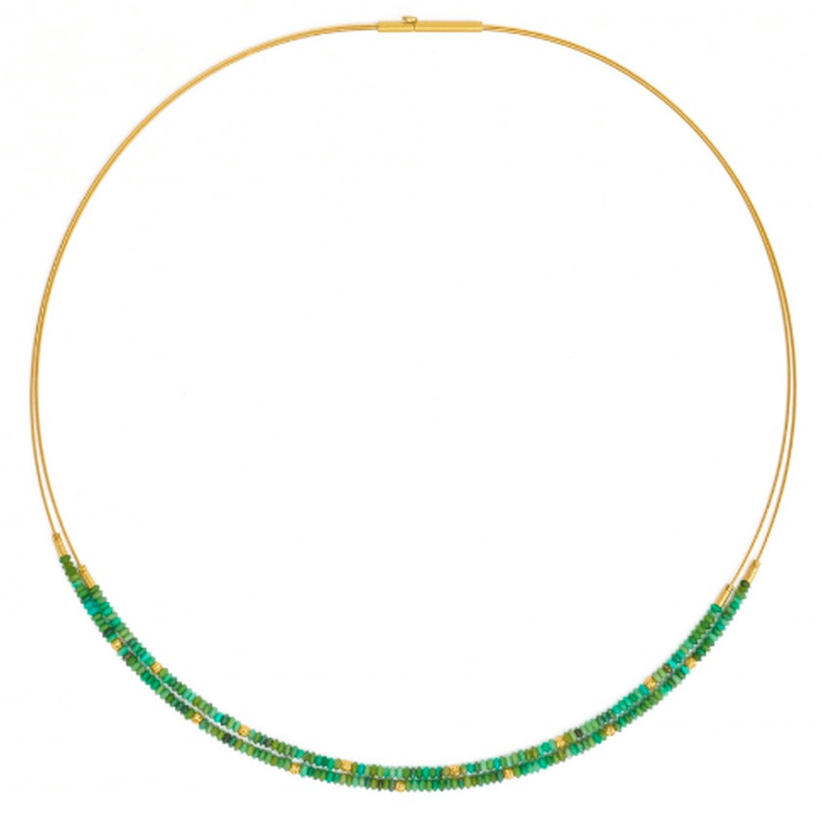 Lindi Green Turquoise Necklace - 85238356-Bernd Wolf-Renee Taylor Gallery