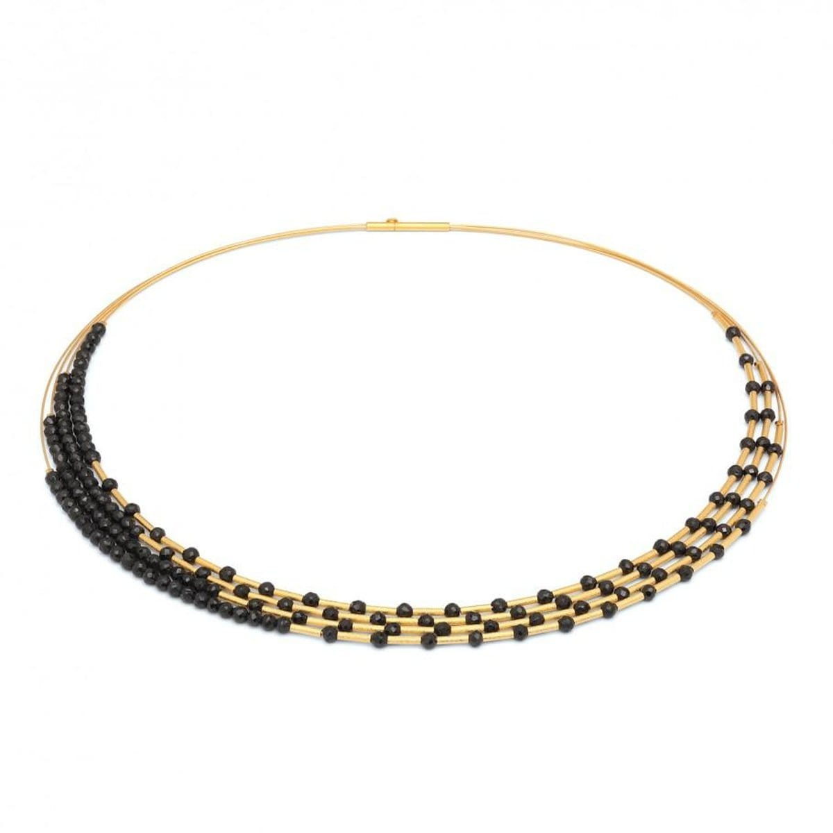 Cleama Black Spinel Necklace - 85372496-Bernd Wolf-Renee Taylor Gallery