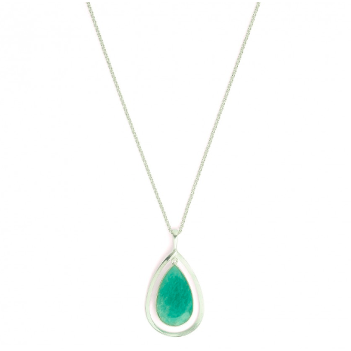 Sequanna Amazonite Necklace - 87852404-Bernd Wolf-Renee Taylor Gallery