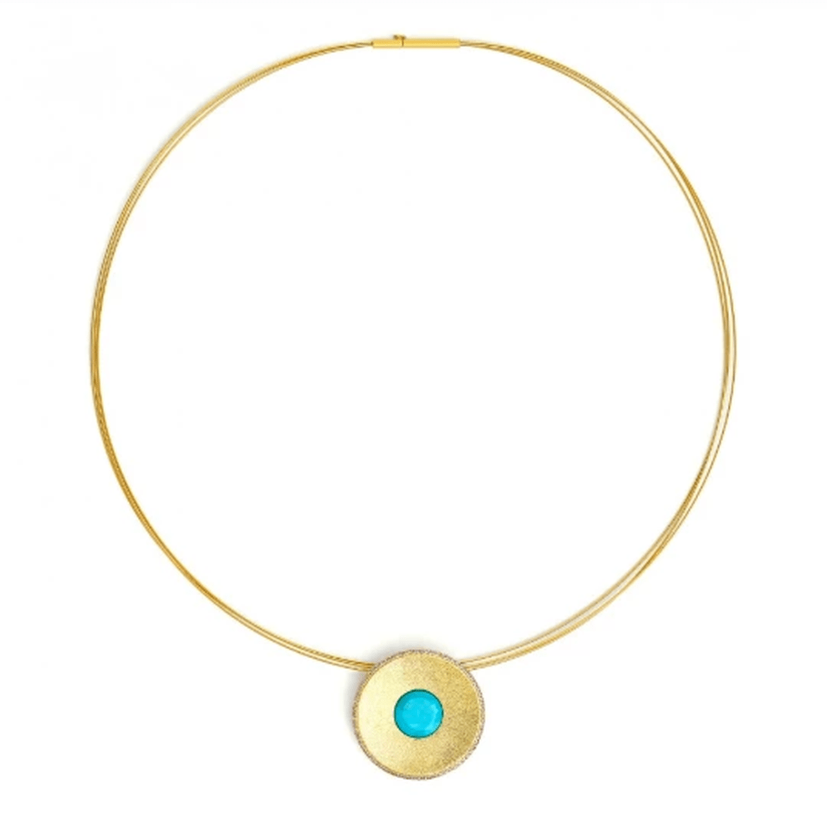 Celanni Turquoise Necklace - 87858256-Bernd Wolf-Renee Taylor Gallery