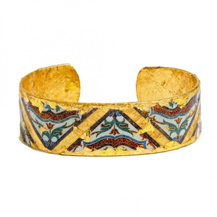 "Pompeii .75"" Cuff - AC120-Evocateur-Renee Taylor Gallery"