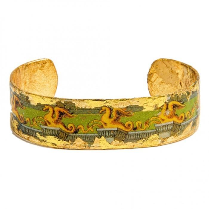 Yellow Dragon Cuff - AC121-Evocateur-Renee Taylor Gallery