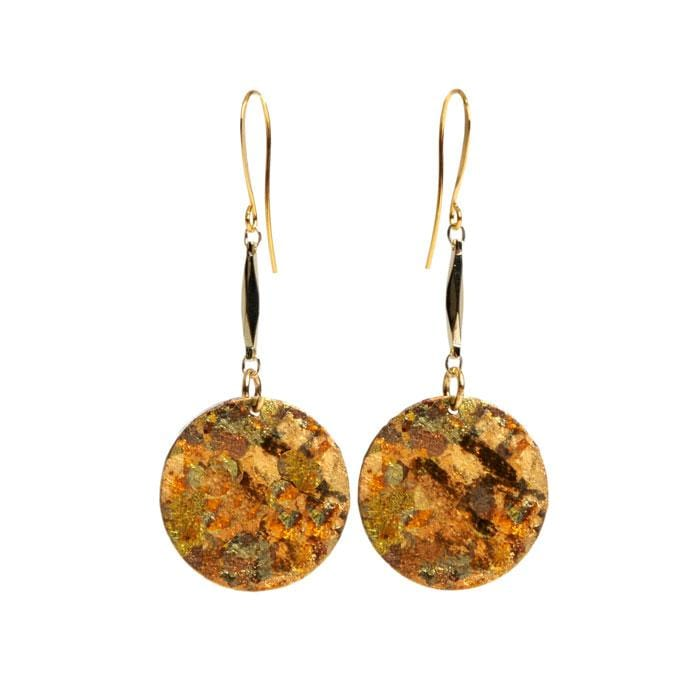 Confetti Disc Drop Earrings - AC406-Evocateur-Renee Taylor Gallery