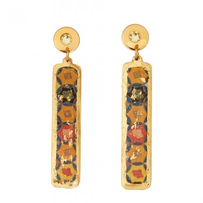Fontana Column Earrings - AC4100-Evocateur-Renee Taylor Gallery