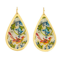 Firenze Teardrop Earrings - AC427-Evocateur-Renee Taylor Gallery
