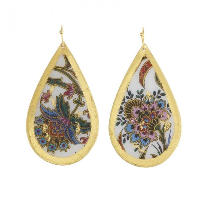 Isabella Teardrop Earrings - AC490-Evocateur-Renee Taylor Gallery