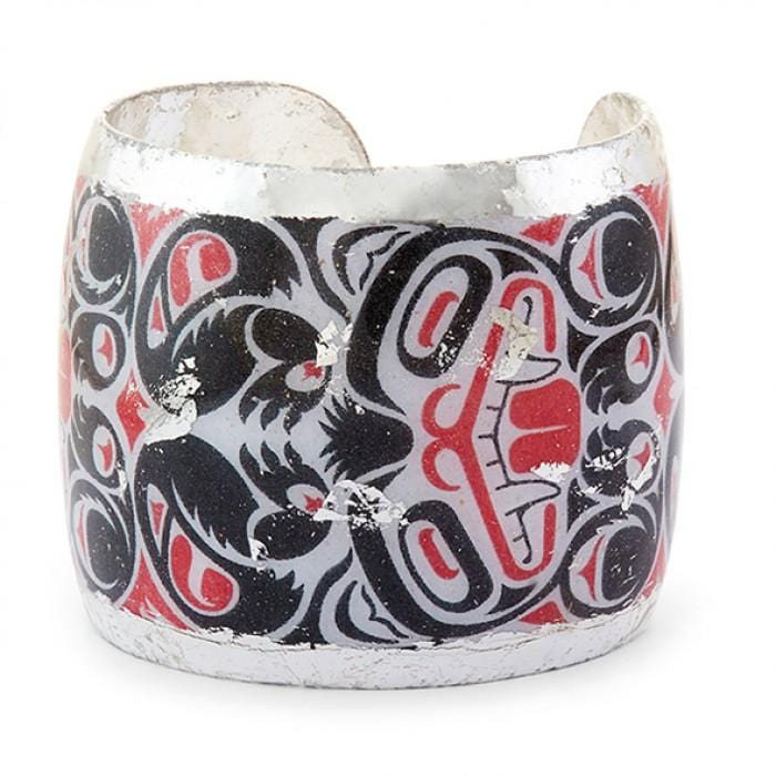 Inuit Tribal Art Cuff - AL108-Evocateur-Renee Taylor Gallery
